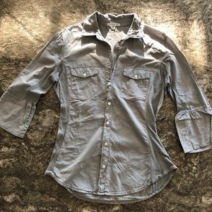 James Perse Button-Up Size 3